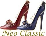 【Neo Classic】 ハイヒールリングホルダー/スワロフスキークリスタル使用