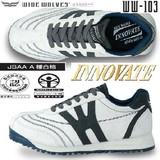 カジュアルな安全靴「ワイドウルブズ」イノベートセーフティーシューズ<靴・シューズ・ワークシューズ>
