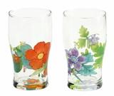 ■ガラスギフト■旬花 ガラスペアタンブラー