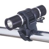 自転車用ライト(アルミ製) 日亜製白色LED0.5W×1灯