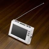 4.3インチディスプレイ ワンセグラジオ(ホワイト)