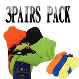 Ralph Lauren Low-Profile Sock 3-Pack  14240