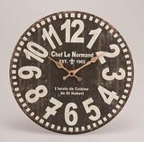 オールドルック ウォールクロック ブラック【時計】