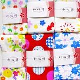 【和心傳】四季折々の絵柄がそろう日本製手ぬぐいフェイスタオル&ハンカチ  和柄