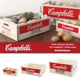 【即納可能】Campbell's ウッドボックスセット【デイリー】【レジャー】【収納】