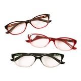 ケース&眼鏡拭き付き グラデーションカラー老眼鏡