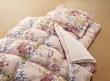 【直送可】【送料無料】やわらかフェザー掛布団寝具セット(マイヤー毛布&敷パッド付)