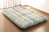 【直送可】【送料無料】5層構造吸汗敷布団 備長炭シート入り<日本製>
