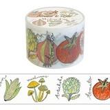 "Wide Washi Tape ""Vegetable"""