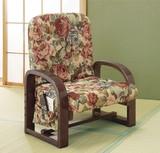 【直送可】【送料無料】リクライニング足腰いたわり座椅子DX天然木