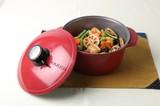 【調理 キッチン 鍋 フライパン】無加水鍋 20cm 浅型