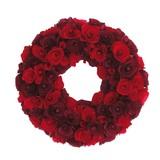 <<クリスマスリース>>★■X'mas/  ★Paring Wreath M(Red/Burgundy)