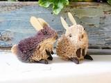 【ESCOBA】ギフトにぴったり♪みんな大好きアニマルモチーフ 【ESCOBA】ミニウサギ Set2