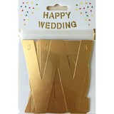 【Paper Intelligence】アルファベットガーランド HAPPY WEDDING