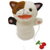 【■Original Soft Toy】 もぐもぐパペット ネコ