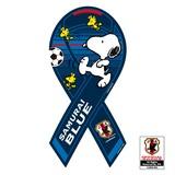 SNOOPY × サッカー日本代表「SAMURAI BLUE」 コラボ リボンマグネット