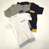 S/S JOEY FACTORY Mesh Switching Pocket T-shirt