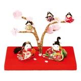 【予約販売】  桜の宴 幸せ雛 [雛人形・桃の節句]