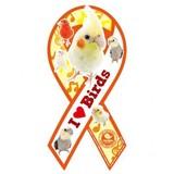 THE BIRD 鳥 雑貨 /トリ オウム インコ バード/リボンマグネット