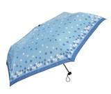 【フェリア・マーレ】婦人用折りたたみ雨傘 ミニフラワープリント