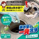 排水管の一発洗浄 石けんタイプ