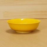 黄釉 吸皿 (鉢) 大