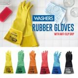 【一部即納可能】WASHERS ラバーグローブ【キッチン】【お掃除】【DIY】