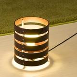 木製スタンドライト茶EFG60W形1灯