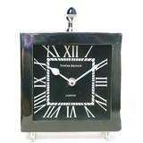 手持ち付き【置き時計】ブラック