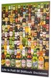 ☆再入荷☆世界のビールがズラリ!超イイ雰囲気です♪【ビアウッドボード ボトルタイプ】