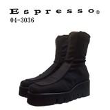 即納【日本製/秋物定番】エスプレッソ (Espresso ) イタリアンストレッチ3E楽ちん厚底ブーツ