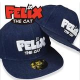 【当社生産 国内ライセンス】【春夏新作】FELIX フィリックス キャップ 帽子 大人 キッズ デニム 日除け