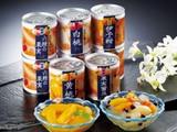 609 国産フルーツ缶&みつ豆缶
