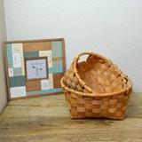 **新商品**シンプルな北欧風な編み方のバスケット