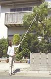 【直送可】【送料無料】伸縮式高枝切りハサミ4点セット