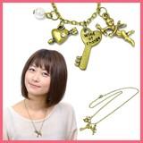 【お値下げしました】鍵&天使のネックレス