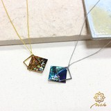 """【Notle】""""Nature""""シリーズネックレス-ダイヤ-"""