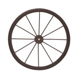ミニウィールL ブラウン【インテリア】【車輪】