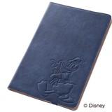 【Disney】タブレットケース レザージャケット ドナルド(RT-DF02FA/DD)