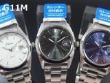 POLARIS メンズ腕時計 メタルウォッチ カレンダー付 日本製ムーブメント