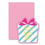 封筒付きミニメッセージカード 39980 Happy Happy Box