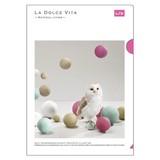 【LA DOLCE VITA】シリーズ 19 A4クリアファイル 11492 ボールオウル