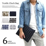 SALE商品【REGiSTA レジスタ】テキスタイル パターン クラッチバッグ