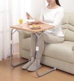 【直送可】【送料無料】角度調節付き折りたたみテーブル