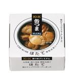 K&K 缶つまプレミアム 北海道ほたて 燻製油漬け F3号缶 x6