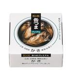 K&K 缶つまプレミアム 広島かき 燻製油漬けEO F3号缶 x6
