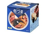 K&K 缶つまベジタパス タコとマッシュとオリーブのアーリオオーリオ SS2号 x6