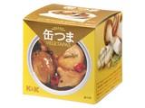 K&K 缶つまベジタパス エリンギとマッシュルームのアヒージョ SS2号 x6
