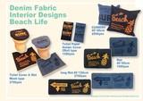 【ビーチスタイル】トイレマット&カバーセット(洗浄機能付きタイプ用)・インテリアマット・クッション