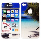 在庫処分大特価!!Upper&LIFE(アッパー&ライフ)iPhone4/4S スキンシール【SUMMER BEACH】